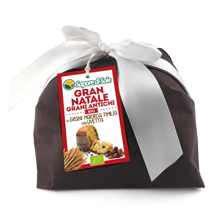 Gran Natale di grani Maiorca e Timìlia con Uvetta