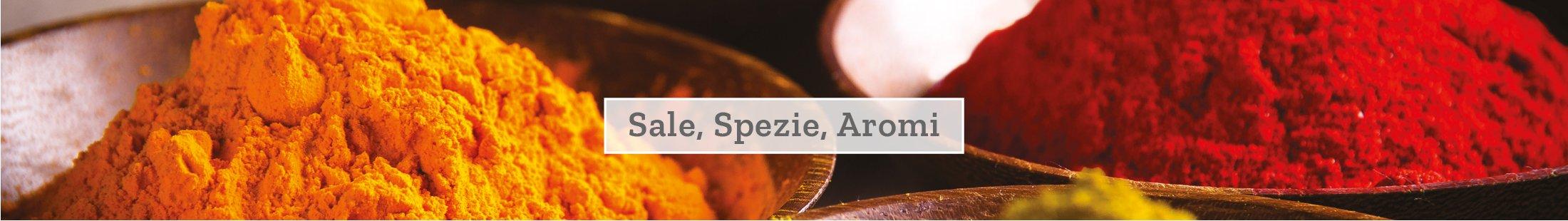 Sale spezie e aromi