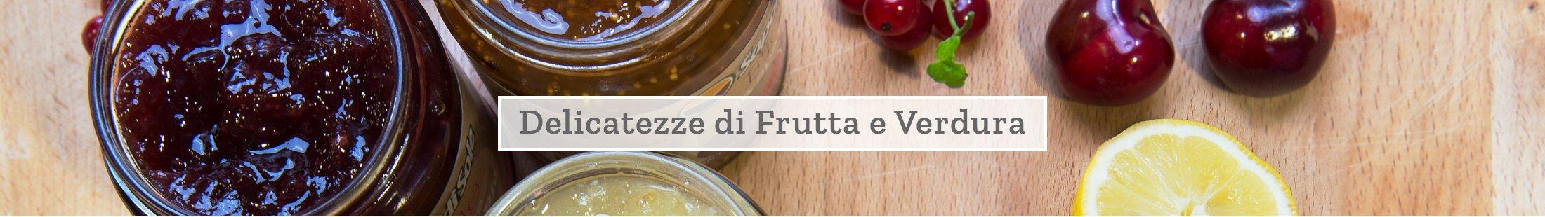 Delicatezze di frutta e verdura