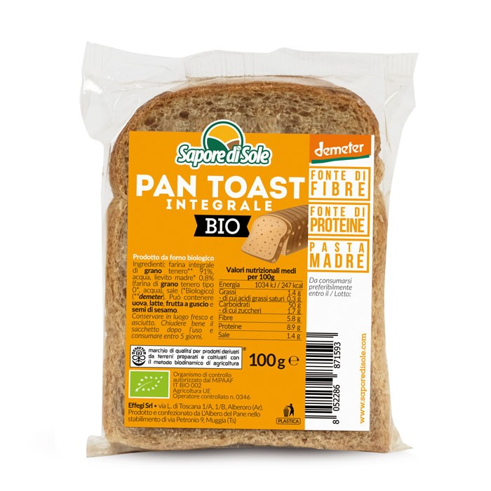 Pan Toast Integrale