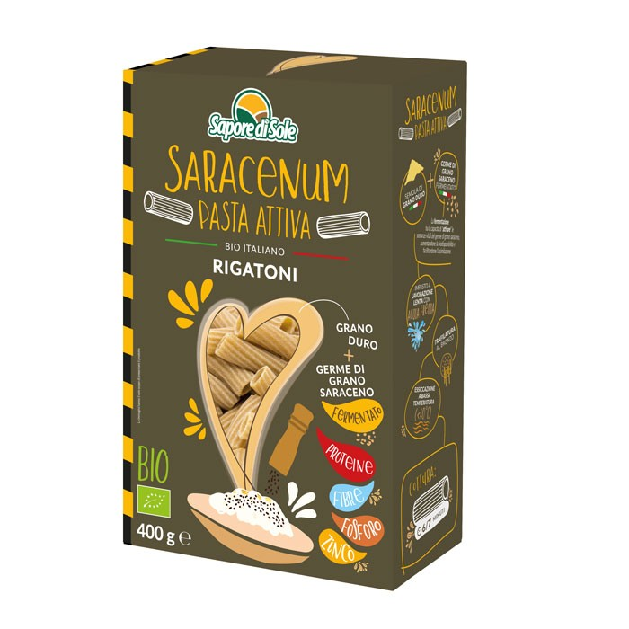 SARACENUM Pasta Attiva - Rigatoni