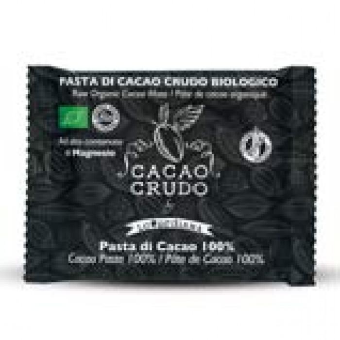 Tavoletta Pasta di Cacao Criollo 100% - Cacao Crudo