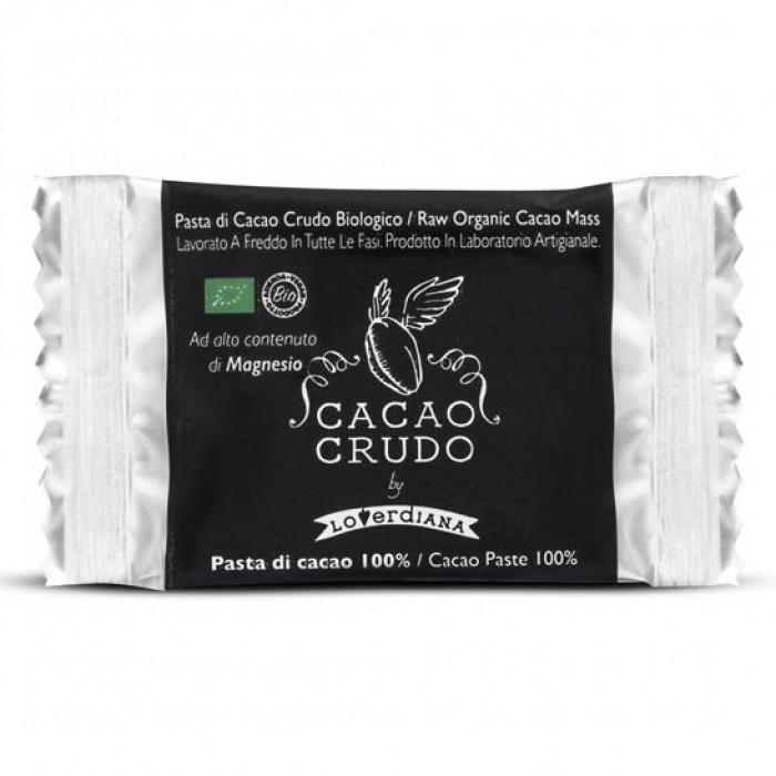 Tavoletta Quadrato Fondente 80% - Cacao Crudo