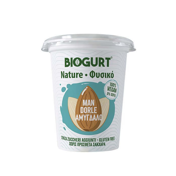 Biogurt Naturale alle Mandorle
