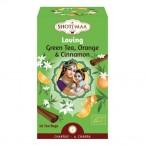 Tisana Tè Verde Arancia e Cannella - Loving