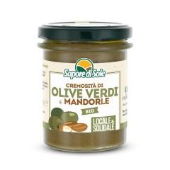 Cremosità Olive Verdi e Mandorle
