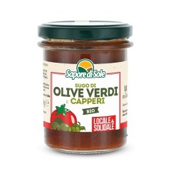 Sugo Olive Verdi e Capperi